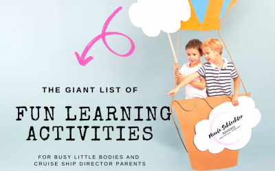 The Giant List of ACTUALLY Fun Educational Activities to do at Home.