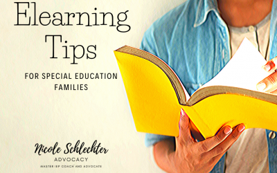 Elearning Tips for Special Education Families