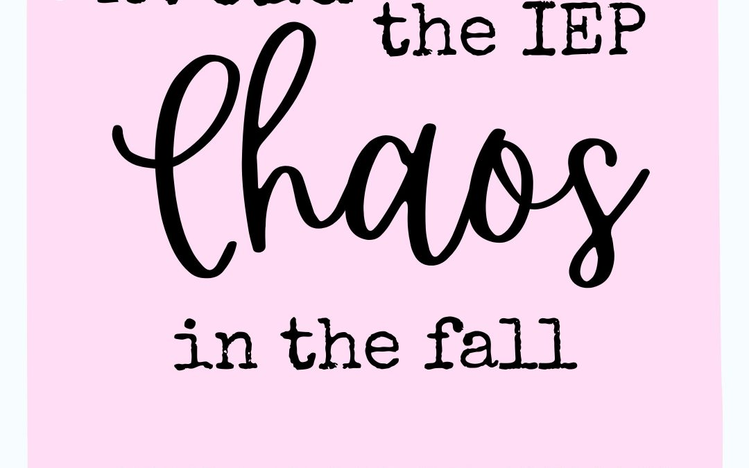 Avoiding the IEP Chaos in the Fall