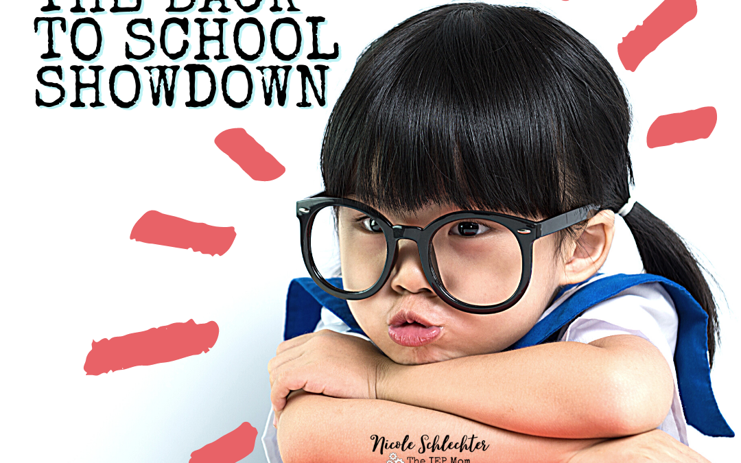 Avoiding the Back to School SHOWDOWN after Winter Break